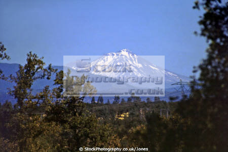 mount shasta northern california taken near lassen peak 62 miles away. american yankee geology vulcanism volcanic seismology faultline usa volcano californian united states