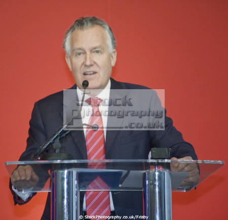 peter hain mp shadow secretary state wales addressing trades union conference llandudno conwy british labour politicians socialist socialism political cymru party unions uk tuc wtuc welsh pa gales united kingdom
