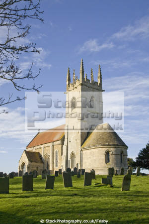 sempringham parish church lincolnshire england uk churchyard gravestones churches worship religion christian british architecture architectural buildings religious building st andrew lincs english angleterre inghilterra inglaterra united kingdom