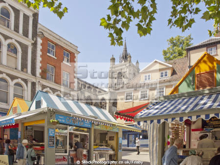 norwich market place uk markets traders commercial buildings retailers british architecture architectural england norfolk shopping retail english angleterre inghilterra inglaterra united kingdom