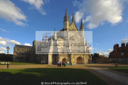 winchester cathedral hampshire religion worship faith religious belief working church tourist attraction england hamps english angleterre inghilterra inglaterra united kingdom british
