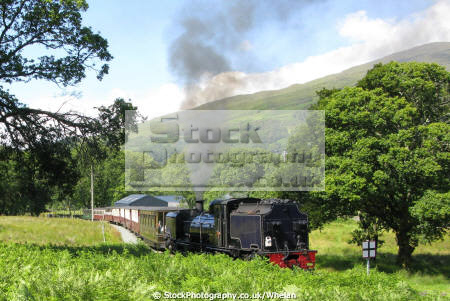 welsh highland railway climb beddgelert bound caernafon steam engines transport transportation engine train preserved snowdonia gwynedd wales pa gales united kingdom british