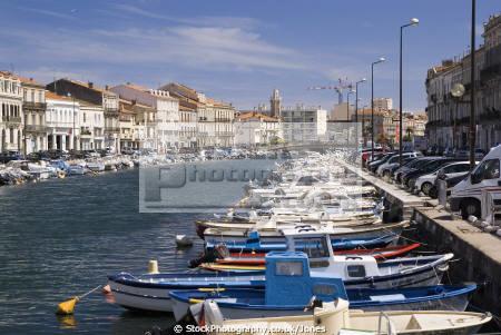 languedoc france canal te quai adolphe merle french landscapes european herault montpellier mediterranean roussillon la francia frankreich