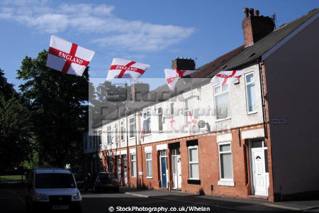 flags display 2010 football world cup soccer sports sporting england salford manchester english angleterre inghilterra inglaterra united kingdom british