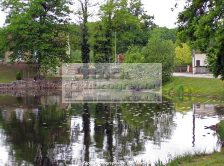 etang brach near tulle southern limousin french landscapes european france corr ze correze lac lake boating fishing leisure la francia frankreich