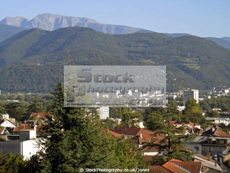 grenoble france suburbs mountains french landscapes european alpine rh ne alpes town city la francia frankreich