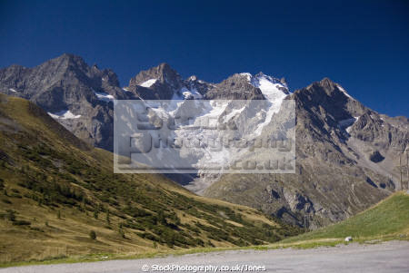 la meije massif des crin range french alps landscapes european france alpine mountains rh ne alpes haute francia frankreich