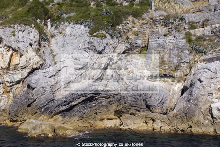 folder strata italy cinque terre taken ferry rock formations geology geological science italia italian riviera liguria mediterranean italien italie