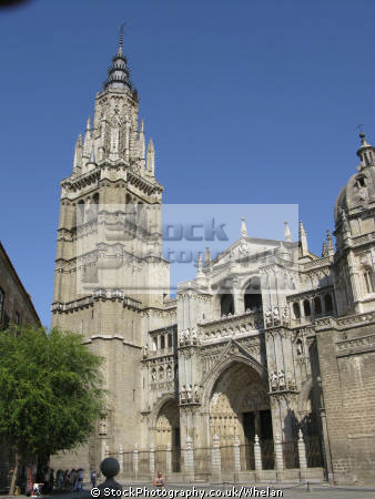 toledo cathedral spanish espana european spain spanien espa espagne la spagna