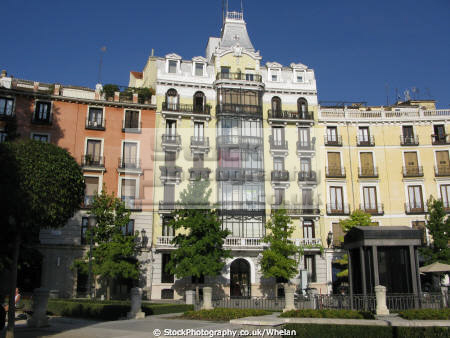 flats close palacio real madrid spanish espana european spain spanien espa espagne la spagna