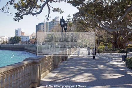 cadiz province spain coastal walk parque del alameda spanish espana european andalucia diz atlantic espagne espa spanien la spagna