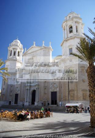cadiz province spain cathedral city spanish espana european diz atlantic espagne espa catedral religion religious catholic plaza spanien la spagna