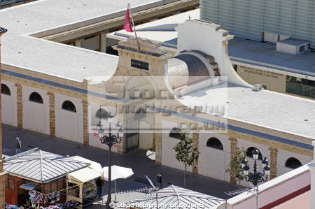 cadiz andalusia spain covered market mercado central taken watchtower torre tavira andalucia spanish espana european diz atlantic espagne espa shopping spanien la spagna
