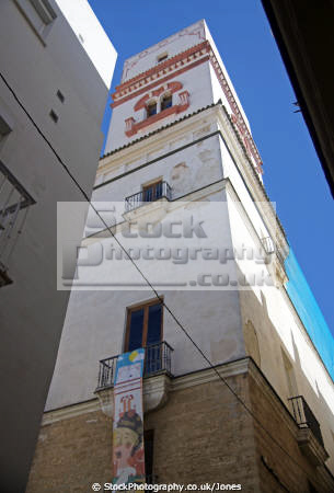 cadiz andalusia spain watchtower torre tavira andalucia spanish espana european diz atlantic espagne espa spanien la spagna