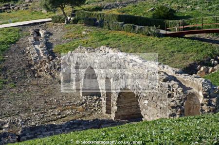 spain remains aquaduct roman city baelo claudia near bolonia archeology archeological science spanish espagna espa andalusia andalucia cadiz costa la luz tarifa atlantic ocean spanien espagne spagna
