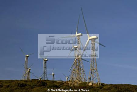 spain windfarm mirador el estrecho gibraltar andalucia spanish espana european espagna espa andalusia estepona cadiz costa la luz spanien espagne spagna