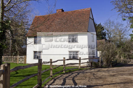 willy lott cottage john constable famous painting haywain painted flatford east bergholt suffolk historical britain history science artist dedham vale painter england english anglia historic listed building angleterre inghilterra inglaterra united kingdom british