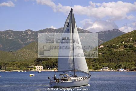 yachting golfe saint florent corsica yachts sailing sailboats boats marine haute corse port marina haven quayside harbour boat bateaux mediterranean france la francia frankreich french