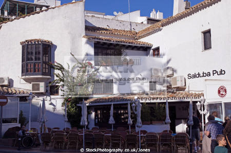 spain traditional bar restaurant puerto ban costa del sol mediterranean andalucia spanish espana european espagna andalusia estepona laga malaga mv marina port spanien espa espagne la spagna