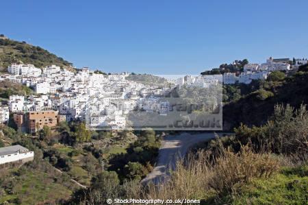 pueblo blanco white village casares near estepona costa del sol andalucia spanish espana european spain espagna andalusia laga malaga mediterranean spanien espa espagne la spagna