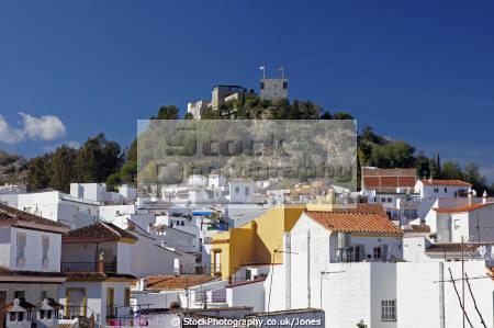 spain town monda near marbella costa del sol mediterranean andalucia spanish espana european espagne espa andalusia estepona laga malaga moorish spanien la spagna
