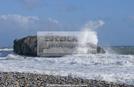 rough sea coast near estepona spain costa del sol mediterranean andalucia spanish espana european espagna andalusia laga malaga spanien espa espagne la spagna