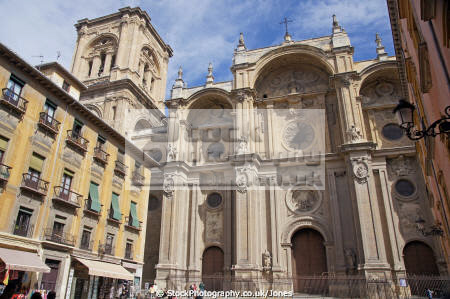 city granada spain cathedral andalucia spanish espana european espagne espa andalusia estepona laga malaga costa del sol mediterranean religious religion catholic spanien la spagna
