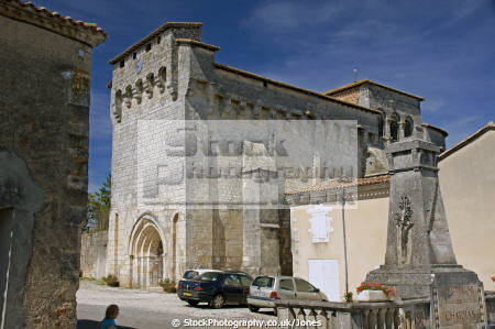 charente france church village charras french buildings european poitou charentes eglise catholic religious religion la francia frankreich