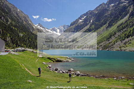 french pyr es walking gr10 lac gaube landscapes european france hautes midi pyrenees cauterets lourdes pau mountains alpine gave vall lake la francia frankreich