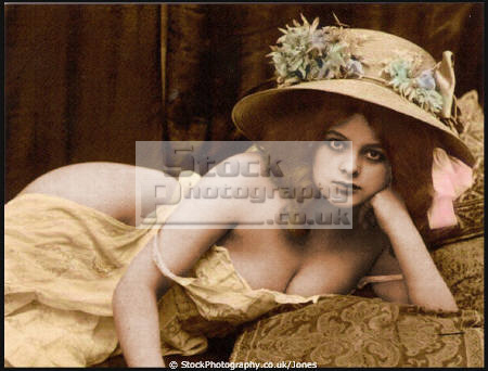 victorian erotic postcard nude women naked body bare nudity nakedness sexual ...