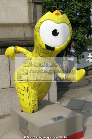 wenlock 2012 olympic mascot sport sporting lambeth london cockney england english angleterre inghilterra inglaterra united kingdom british