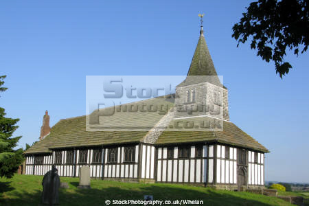 church st james paul marton situated south village cheshire england designated english heritage grade listed building oldest timber framed churches europe uk worship religion christian british architecture architectural buildings angleterre inghilterra inglaterra united kingdom