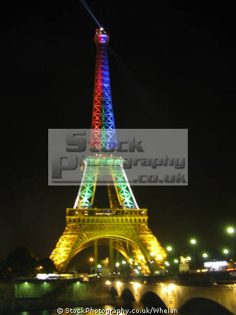 eiffel tower dark french buildings european view paris parisienne france la francia frankreich