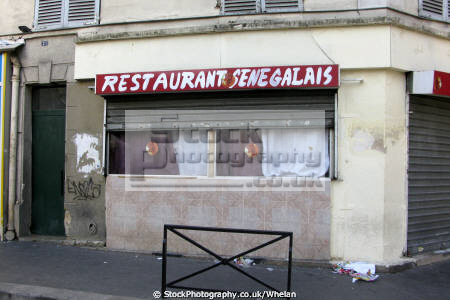 senegalese restaurant goutte region paris french buildings european parisienne france la francia frankreich