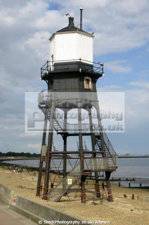 victorian lighthouse dovercourt near harwich essex uk coastline coastal environmental england english angleterre inghilterra inglaterra united kingdom british