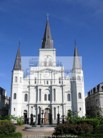 st louis cathedral new orleans american yankee louisiana southern state united states