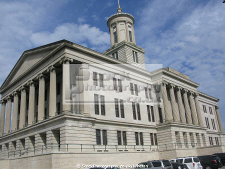 tennessee state capitol nashville american yankee united states