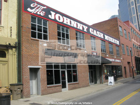 johnny cash museum nashville music musicians musical arts tennessee country united states american