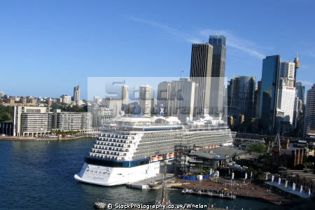 solstice cruise ship sydney harbour transport transportation australia australian