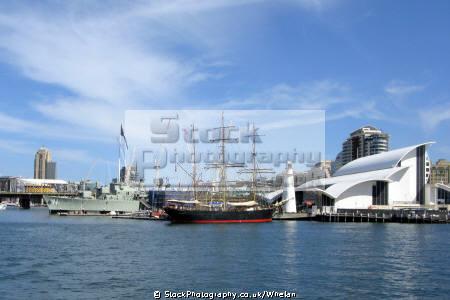 vintage ships darling harbour sydney city maritime museum transport transportation australia australian