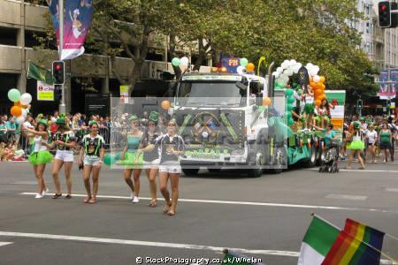 2015 saint patrick day parade sydney australian irish australia