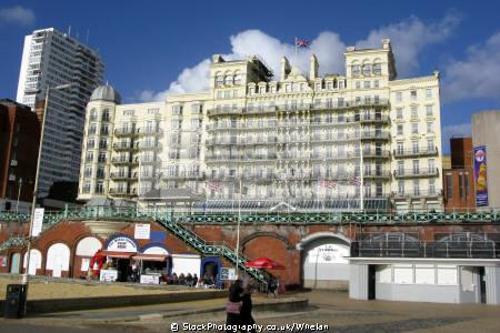 grand hotel brighton uk coastline coastal environmental seaside sussex home counties england english angleterre inghilterra inglaterra united kingdom british
