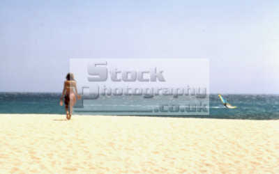 beach girl windsurfer watersports aquatic sports sporting uk water mykonos greek island dodcanese islands greece europe european