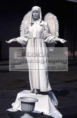 angel religion worship faith religious belief working people persons pray fake statue angelic heavenly new orleans big easy louisiana southern state usa united states america american