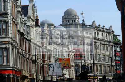 shaftesbury avenue theatreland lyric apollo gielgud theatre theatres theatrical buildings architecture london capital england english uk westminster cockney angleterre inghilterra inglaterra united kingdom british