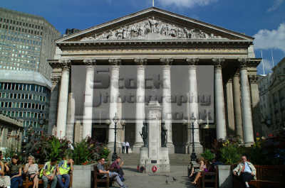 royal exchange frontage city london famous sights capital england english uk money greed power stock market business cockney angleterre inghilterra inglaterra united kingdom british