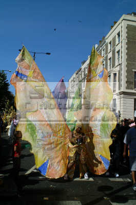 butterfly lady notting hill carnival london events capital england english uk black culture street colour color parade celebrate afro carribean party kensington chelsea cockney angleterre inghilterra inglaterra united kingdom british