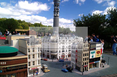 piccadilly circus post office tower lego legoland theme park uk parks amusement tourist attractions leisure model london berkshire england english angleterre inghilterra inglaterra united kingdom british
