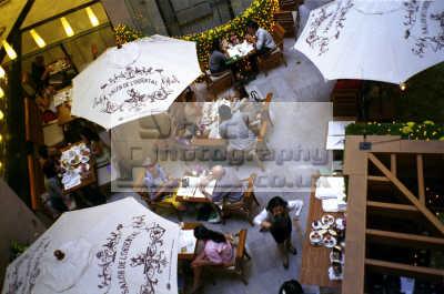 thai eatery modern emporium shopping center bangkok thailand asian travel convivial food asia
