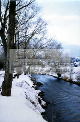 portneuf river lava hot springs idaho snow natural history nature misc. winter wintery usa united states america american